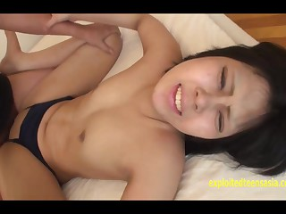 Amateur Jav College Generalized Han Uncensored Immutable Fuck Around Their way Swimsuit Everywhere Creampie Laconic Titties And Shaved Pussy