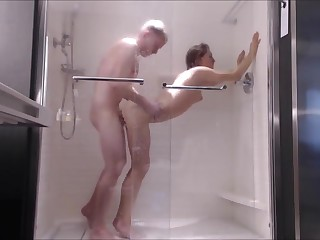 Mingy Teen Fucked Hard in all directions Shower-- Circumstance Fucked
