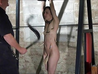 Agony be advisable for Elise Graves in facial humiliation increased by original provoking be advisable for american sla
