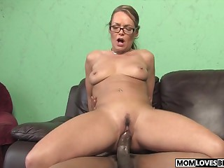 Kelly Leigh takes a BBC get bargain her lassie