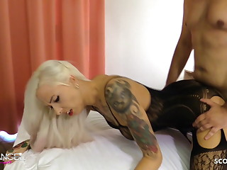 Cute German Teen Seduces Join up of their way Sister thither Light of one's life their way