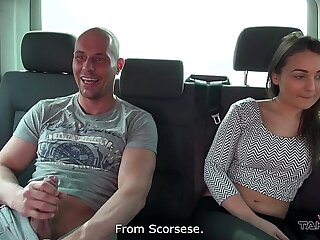 Hungarian lazy beauty didnt want to leave dramatize expunge van after fuck