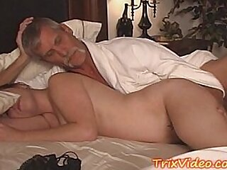 Old man doing sex with young