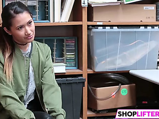 Legal Age Teenager jade has fuck with an officer for theft