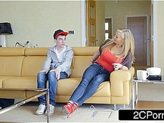 Rebecca Moore seduces young Jordi