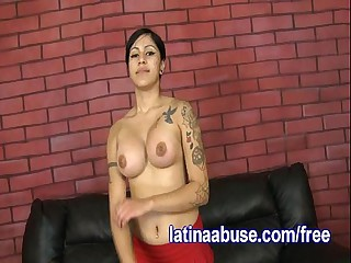 Latina Lesbo Deepthroats Two Dicks