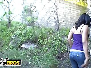 BANGBROS - Interracial Sex With Hot Ebony Pornstar Anita Peida