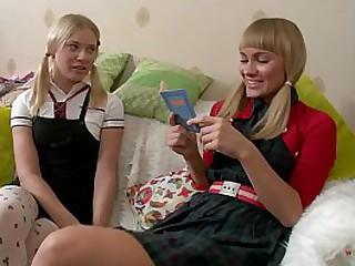Perfect Czech Babe Prepares Her Best Friend For Her First Anal